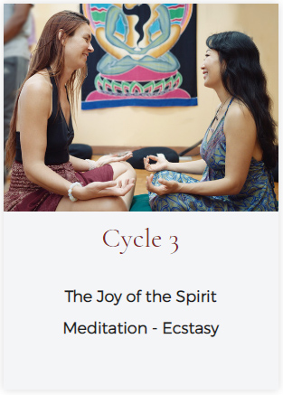 LET cycle 3 - The Joy of the Spirit: Meditation - Ecstasy